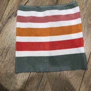 Women's brand new strapless top